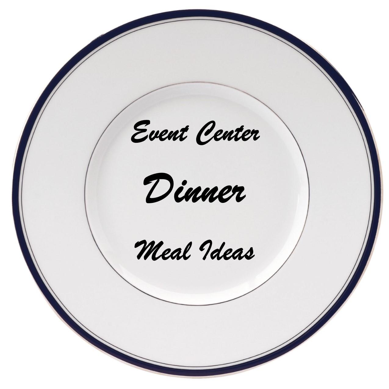 plate for dinner