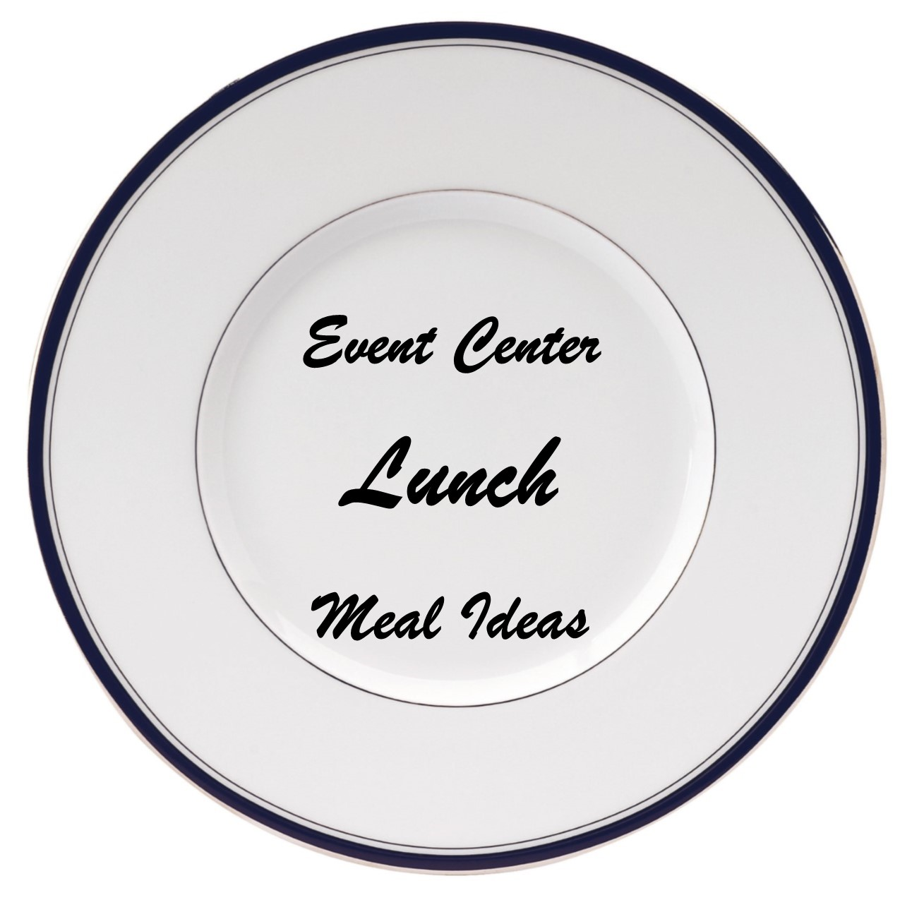 plate for lunch